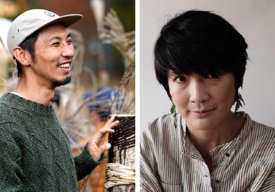 堤卓也さんと松山幸子さんの写真